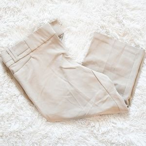EUC Maurices Smart Fit Crop Khaki Capri Dress Pant